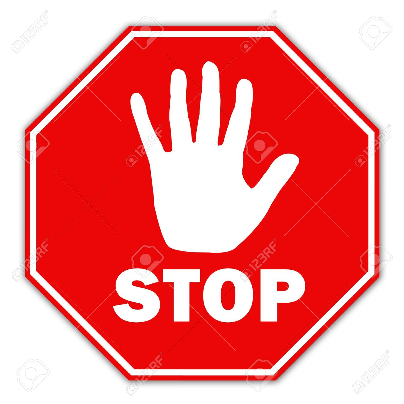 picture of stop sign Stop Sign Stock Photo, Picture And Royalty Free Image. Image 6597624.