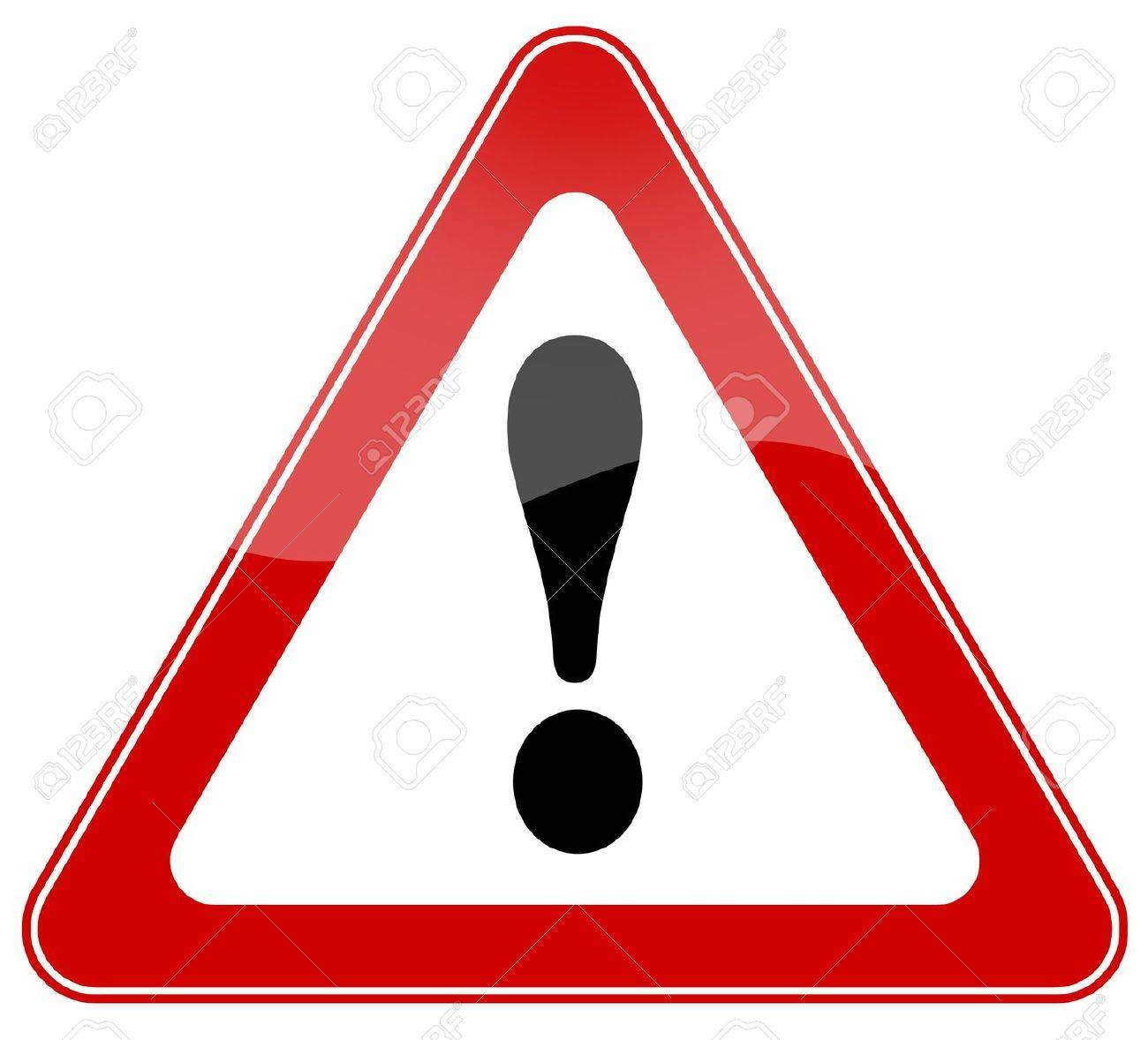 Attention sign Stock Photo - 7426684