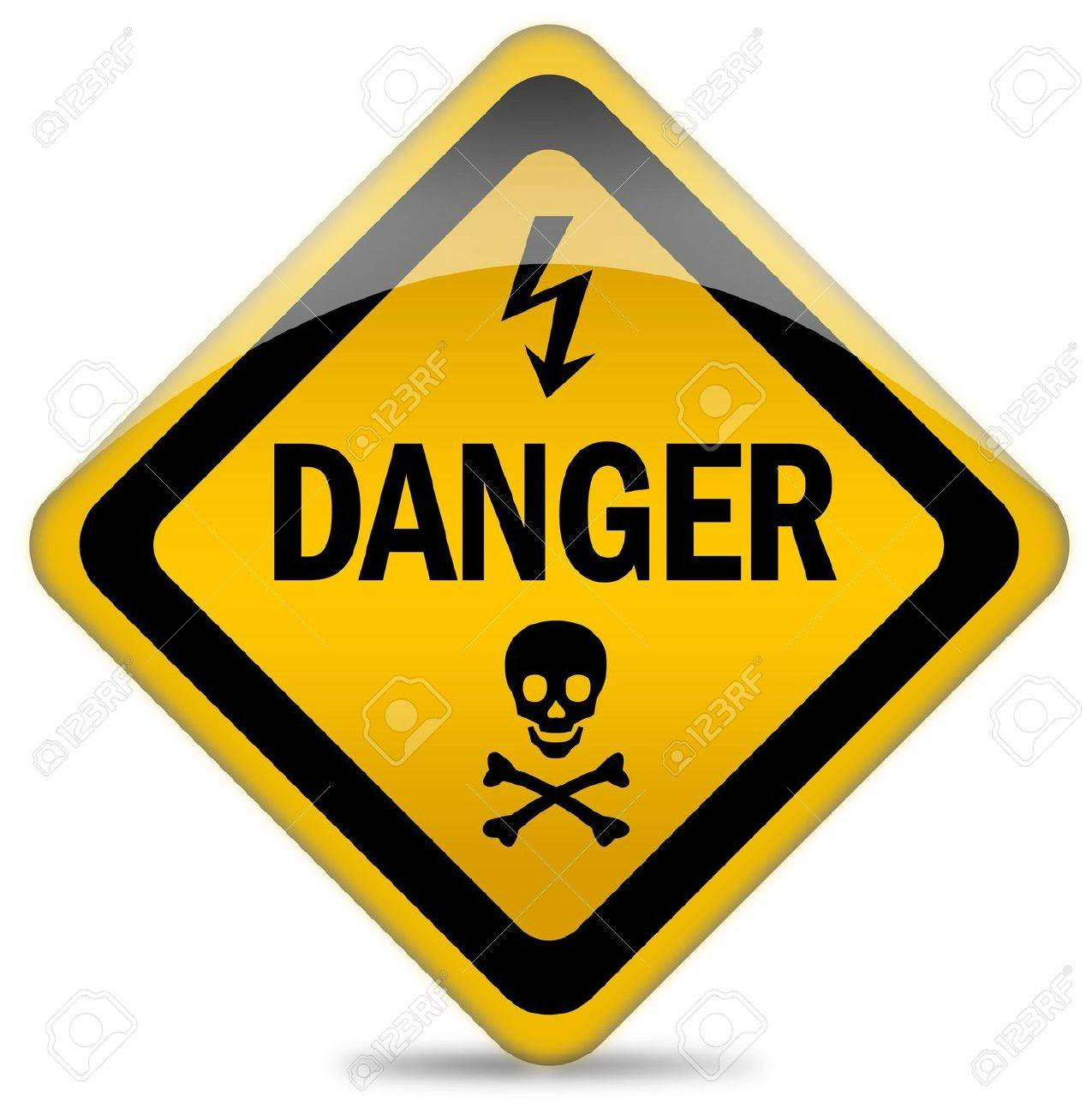 Danger warning sign Stock Photo - 7426706