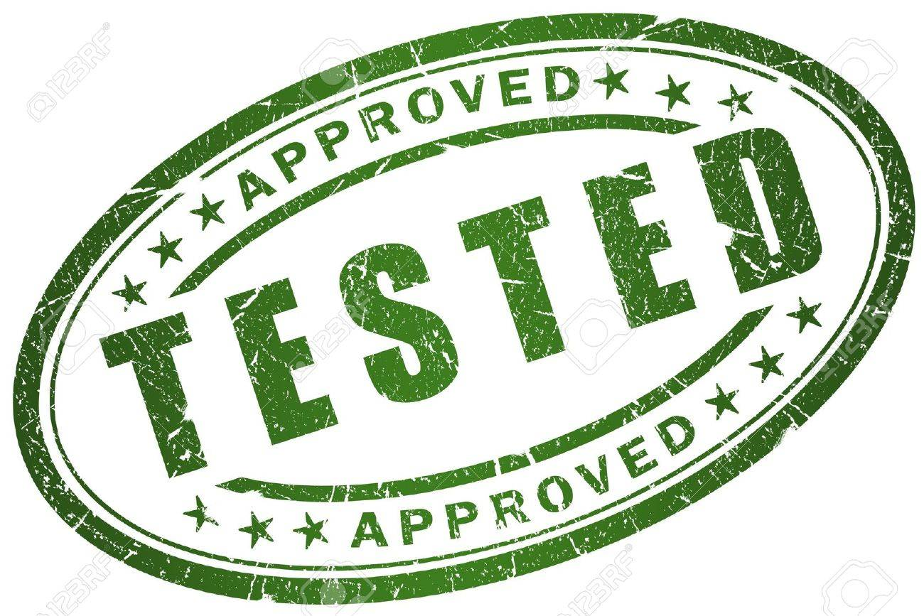 Tested stamp Stock Photo - 7466252