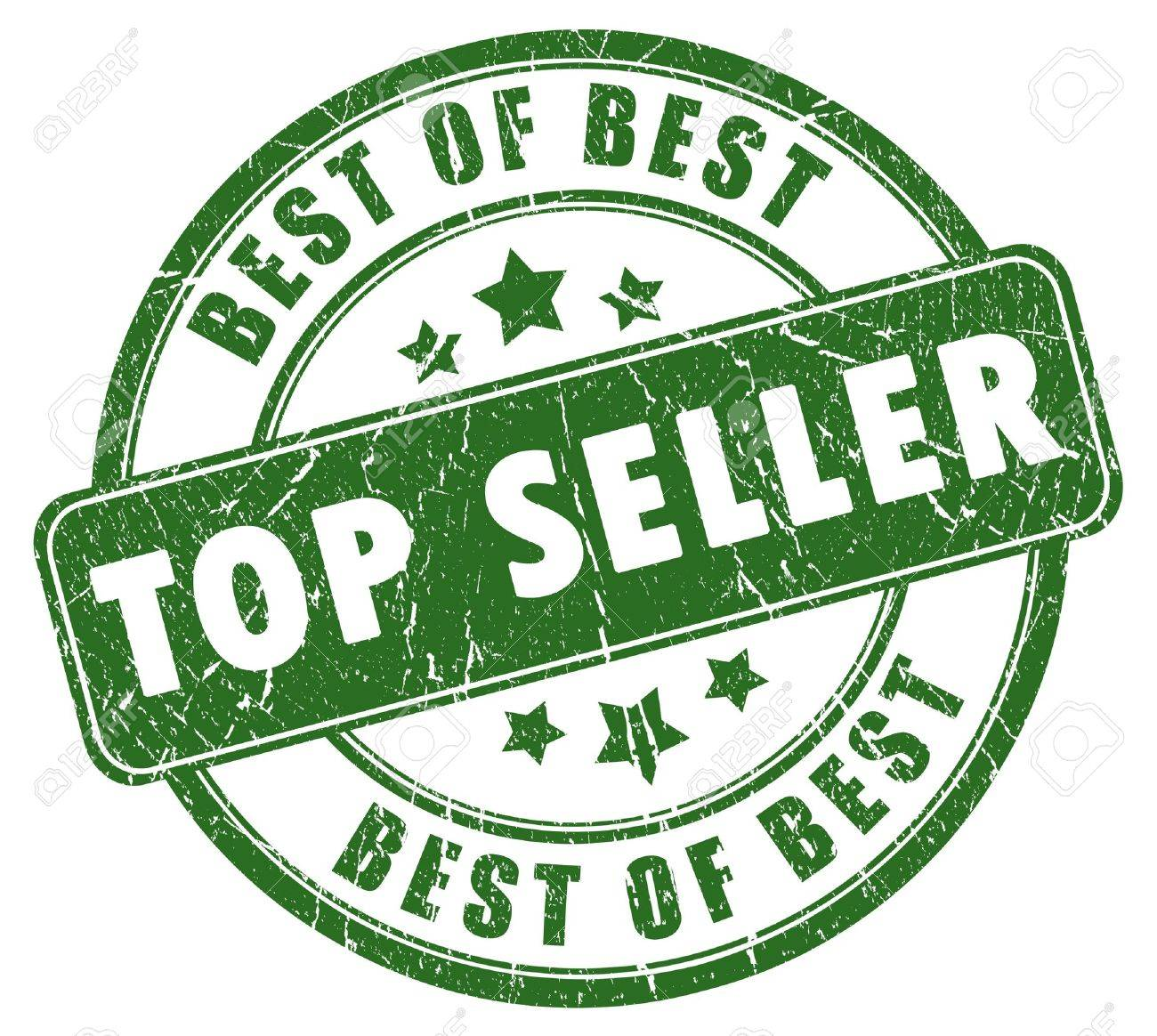 Top seller stamp Stock Photo - 8157760