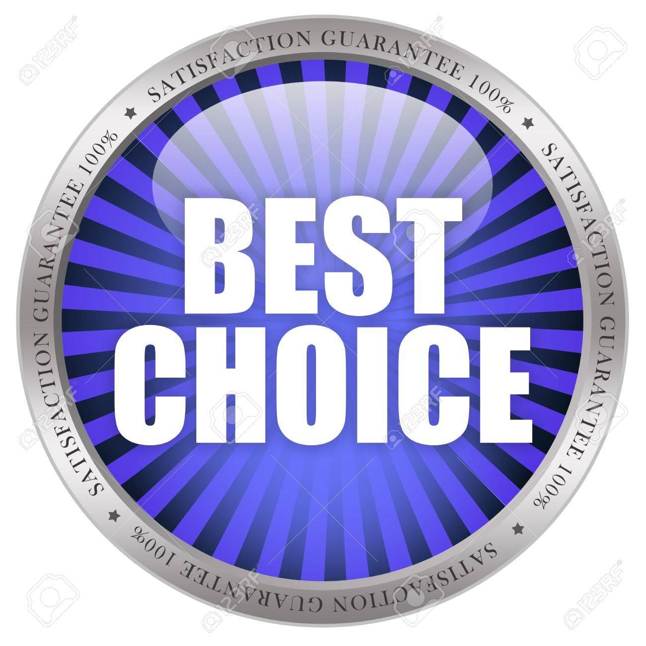 Best choice icon Stock Photo - 8222776