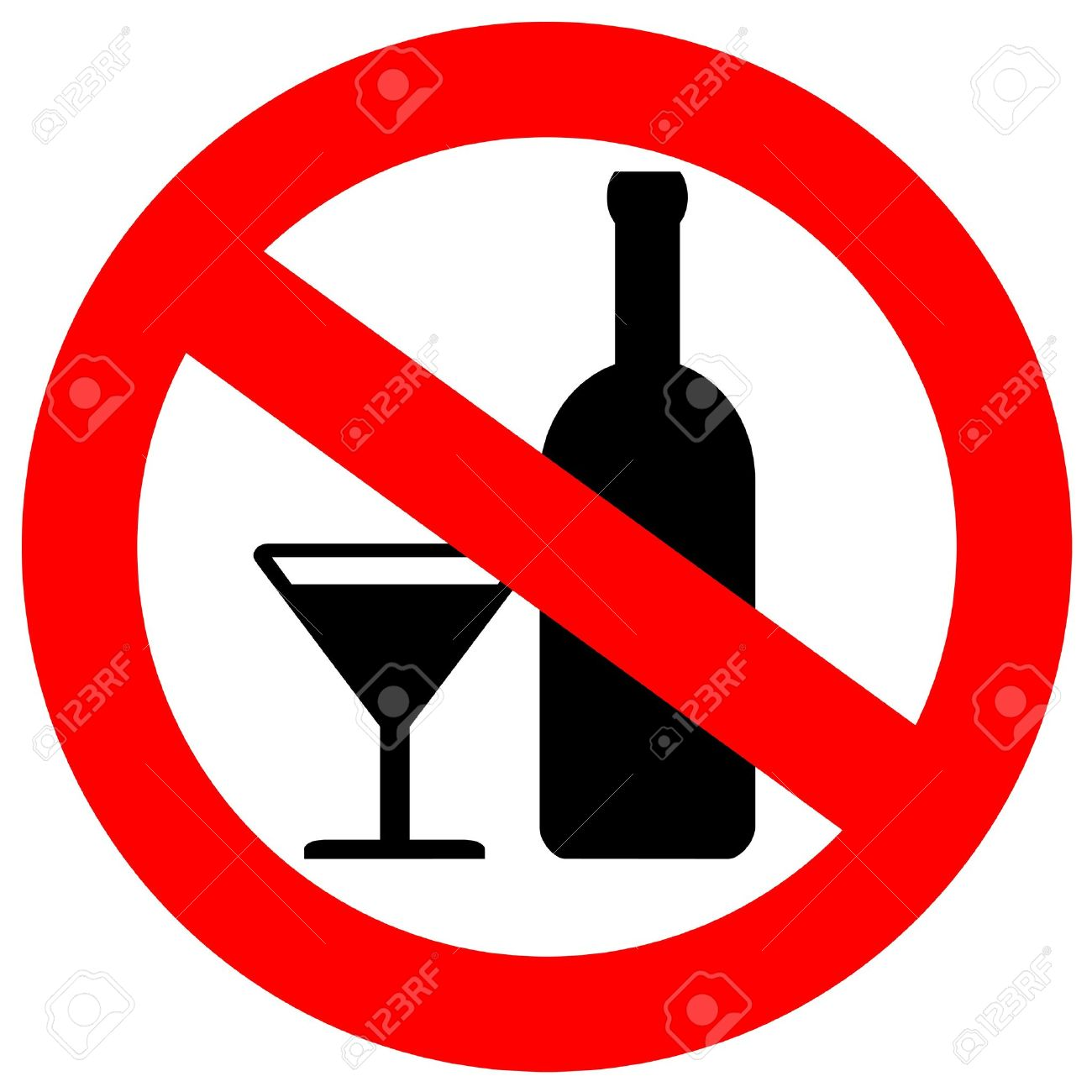 not alcoholic  No alcohol No Drugs And Alcohol Clipart
