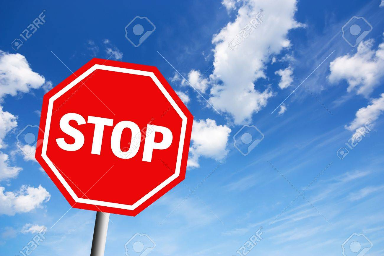 Stop sign Stock Photo - 8222768