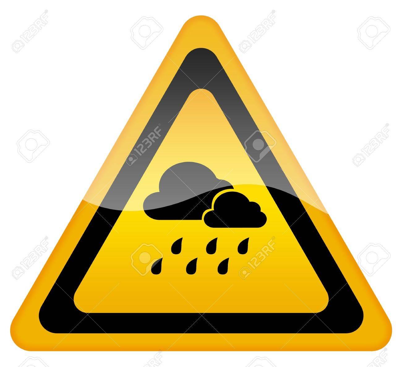 Rainy weather warning sign stock photo picture and royalty free rainy weather warning sign stock photo 8623308 buycottarizona Image collections