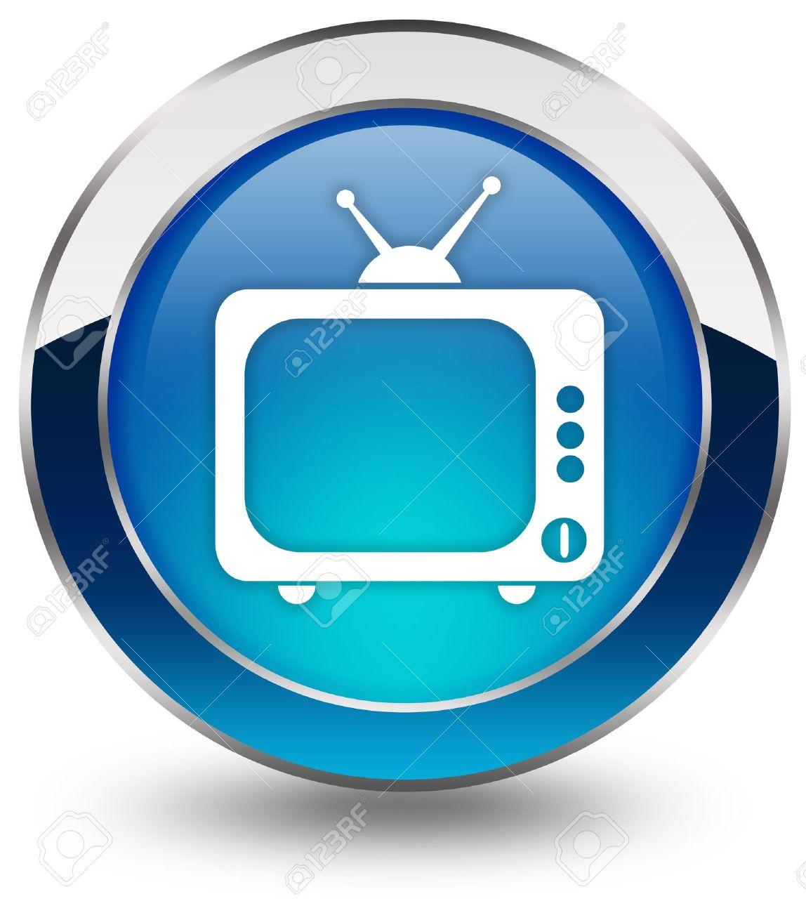 Tv icon Stock Photo - 9156469