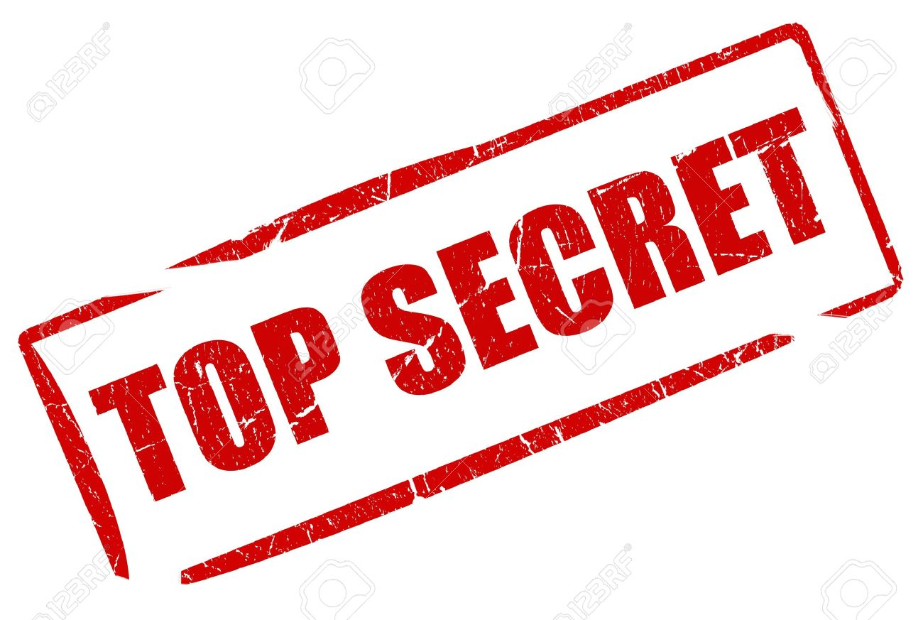 Top Secret Stamp Stock Photo Picture And Royalty Free Image