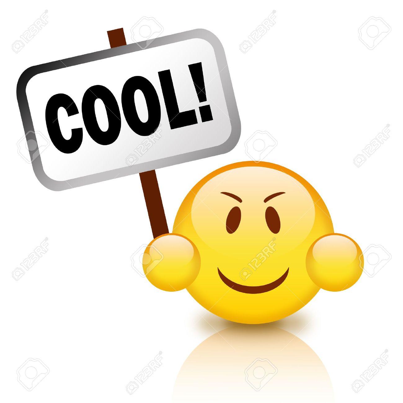 Cool emoticon - 9396078