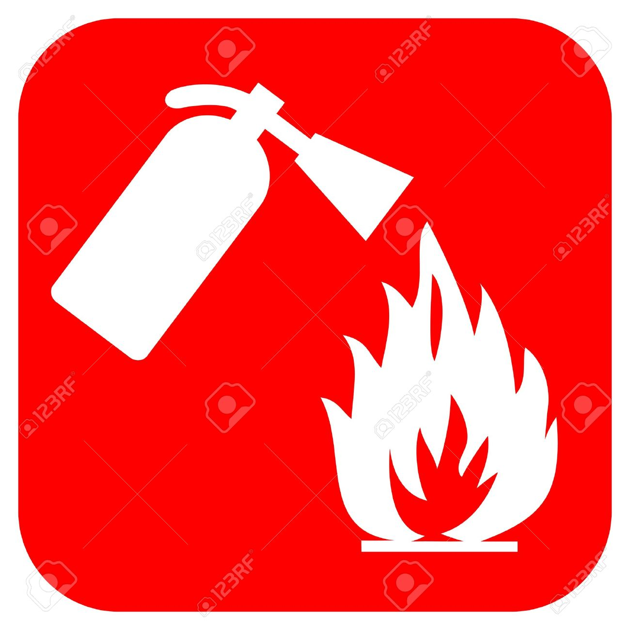fire safety logo stock photo, picture and royalty free image. image
