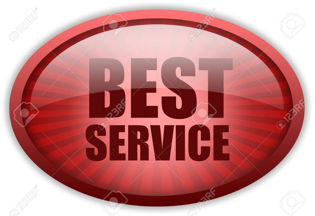 Best service icon Stock Photo - 9849794