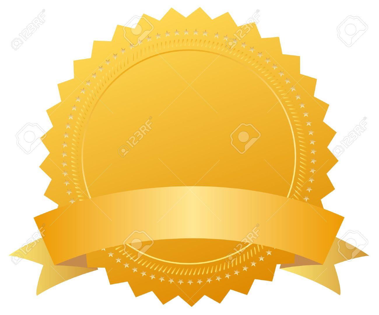 award medal with ribbon Stock Vector - 9932672