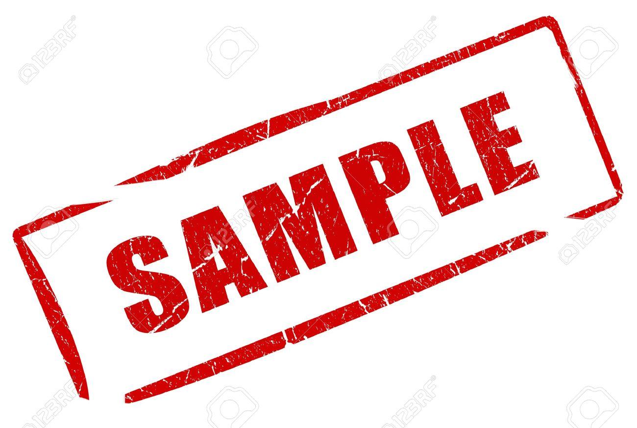 サンプルのタイムスタンプ の写真素材・画像素材 Image 10101139.