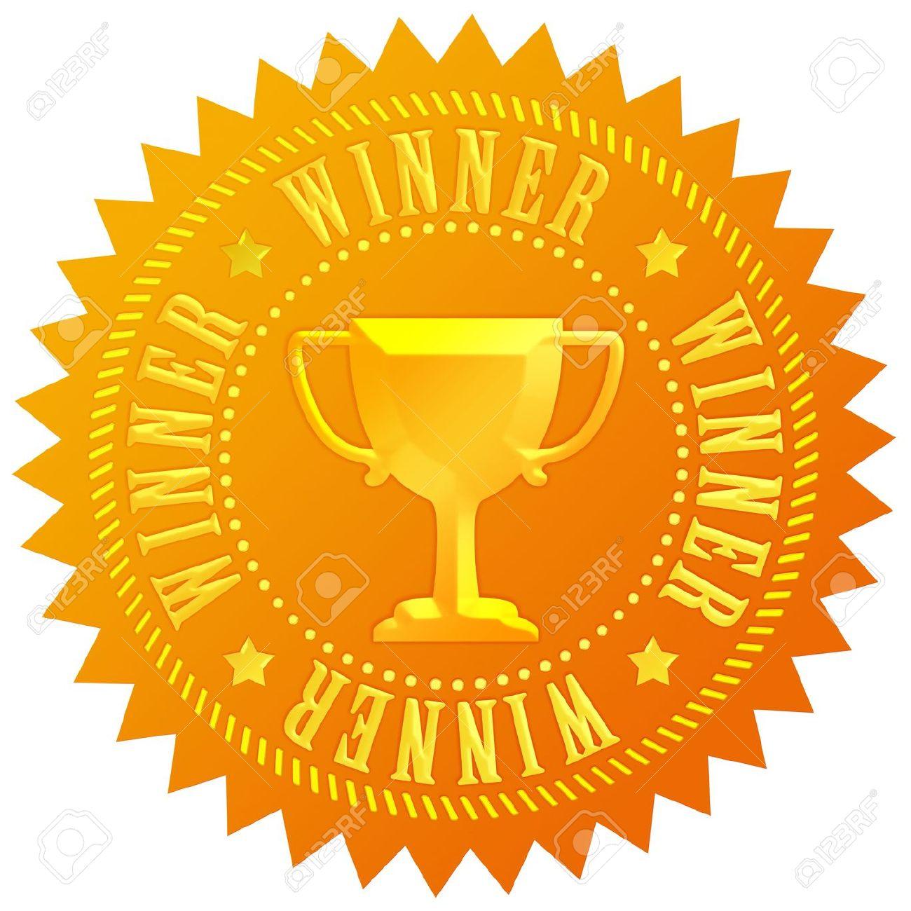 Winner gold medal Stock Photo - 10101151