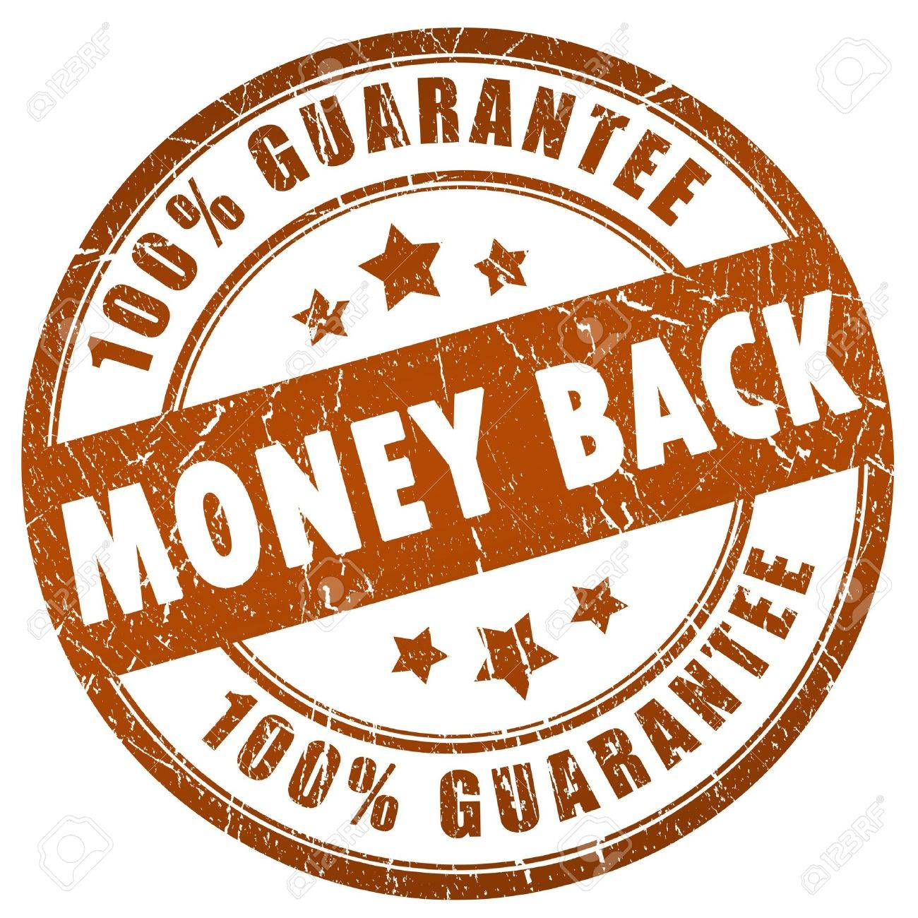 Money back grunge stamp Stock Photo - 10327477