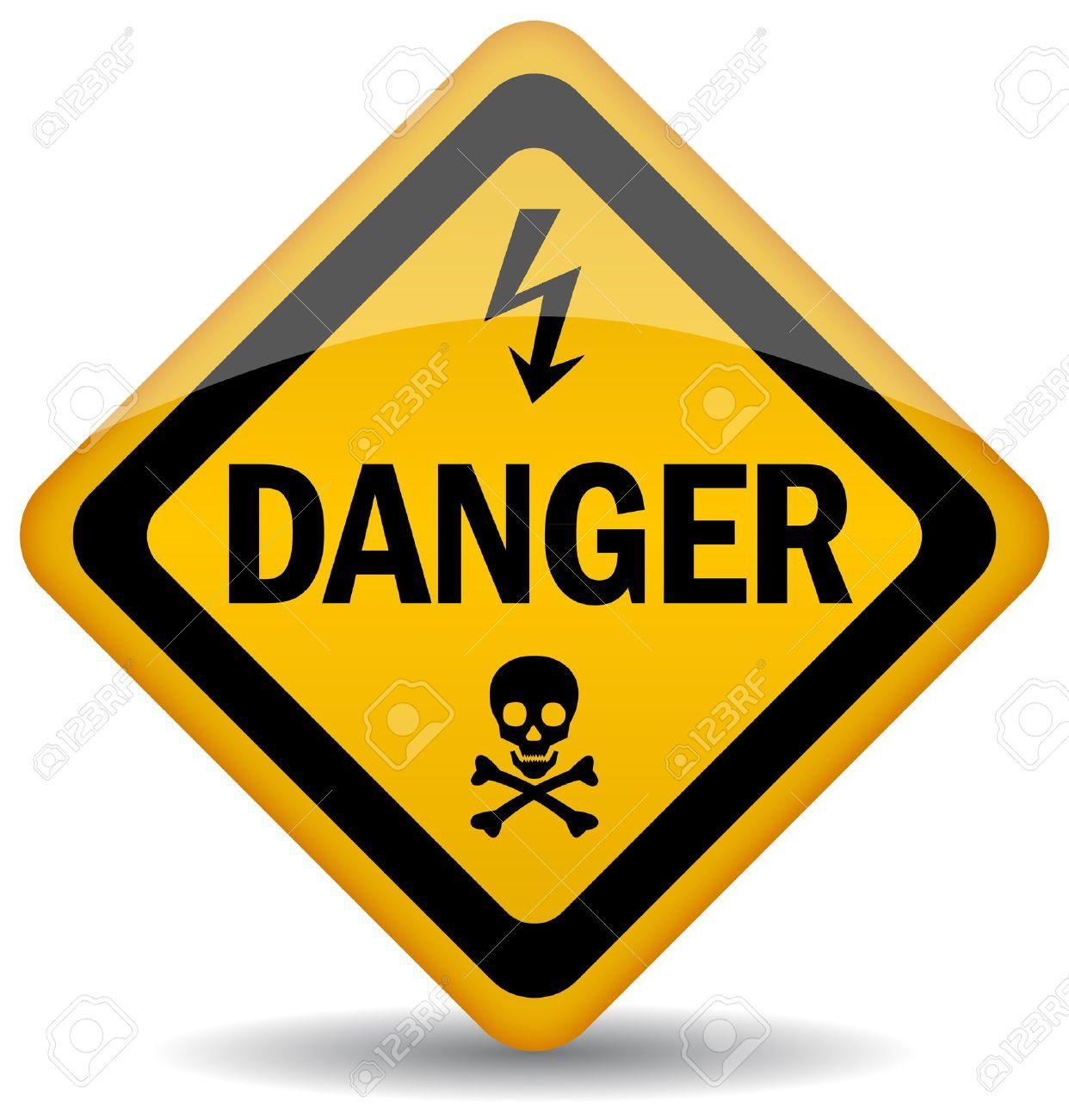 danger warning sign Stock Vector - 10428472