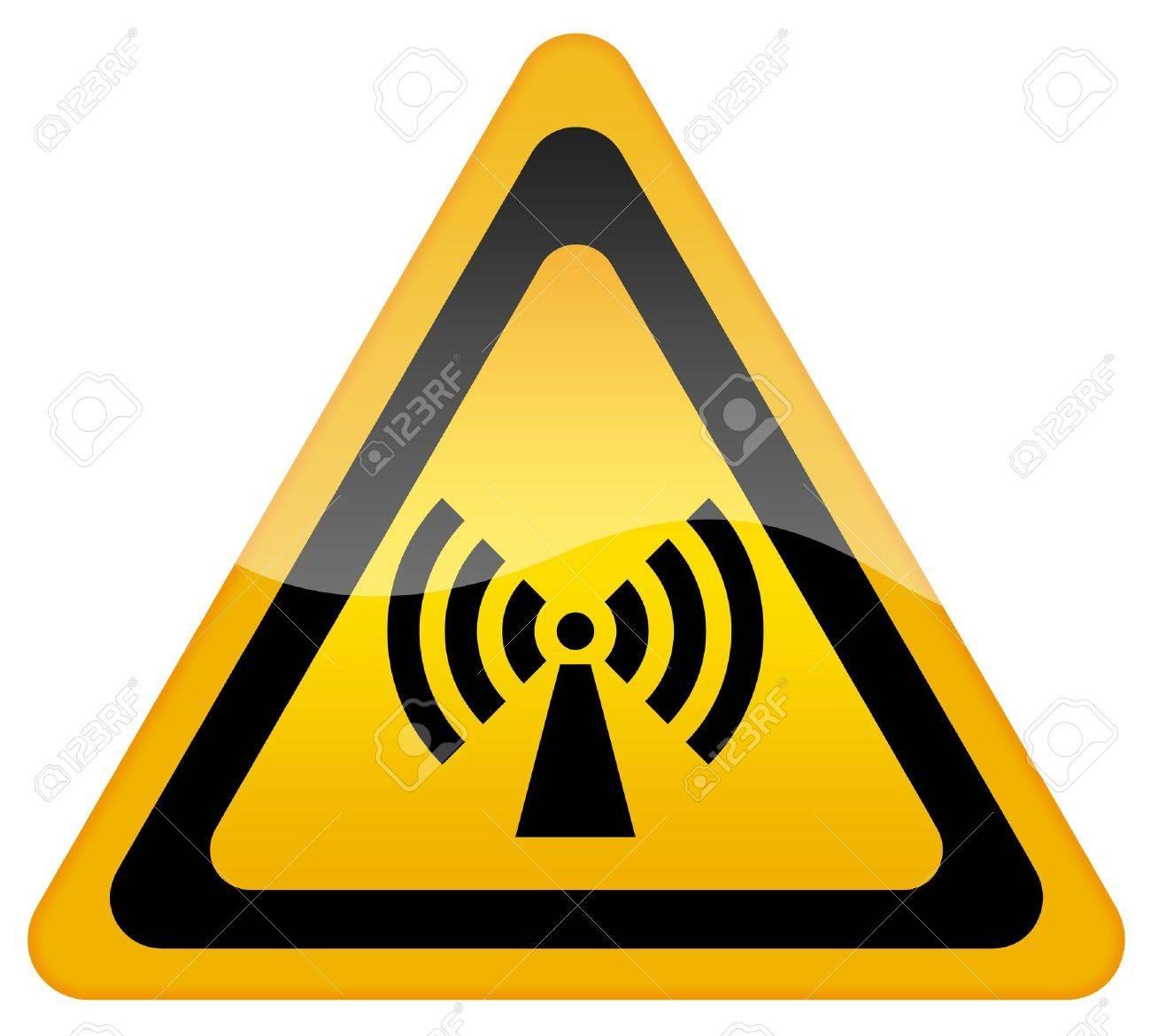Wireless network sign Stock Photo - 10428511