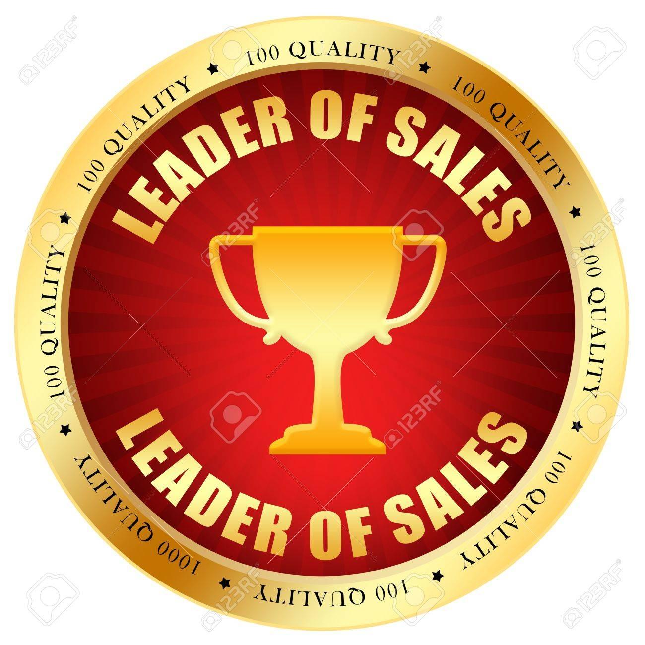 Sale leader icon Stock Photo - 10567265