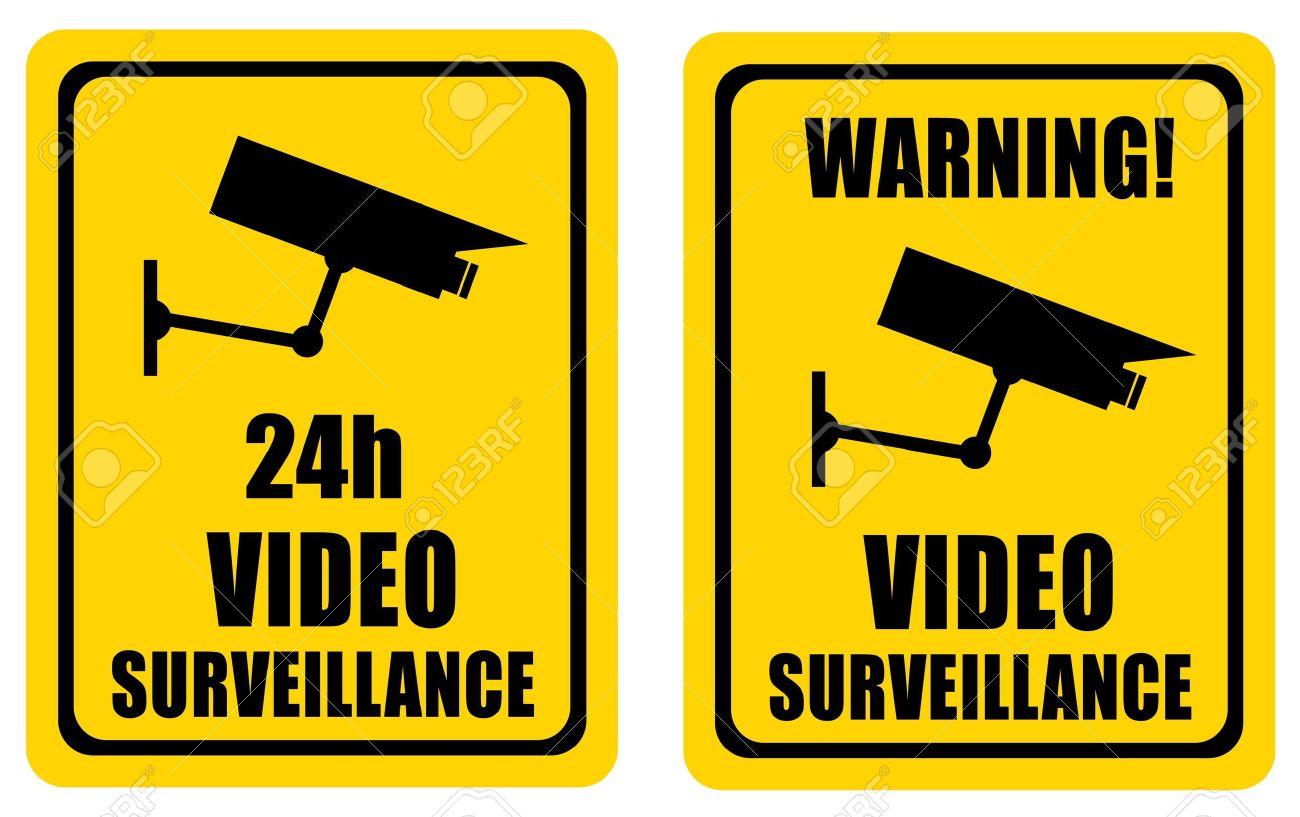 Video surveillance sign Stock Photo - 10567263