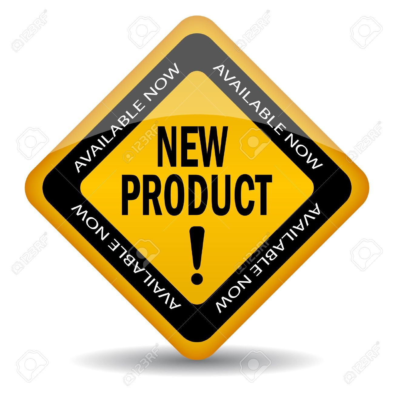 New product sign, vector illustration - 10856766