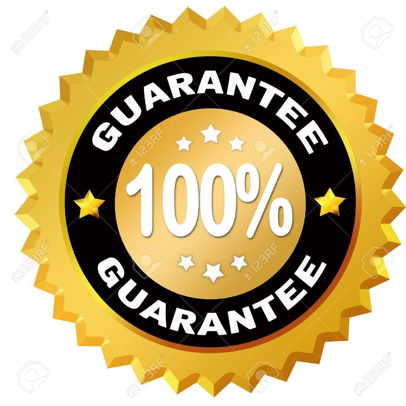 Guarantee label Stock Photo - 11698011
