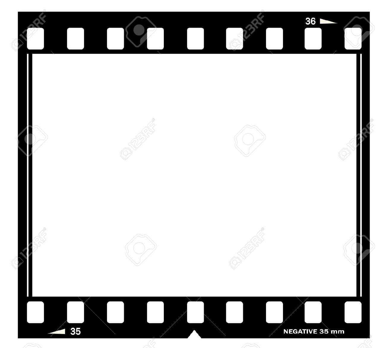 film frame illustration stock illustration 12894942