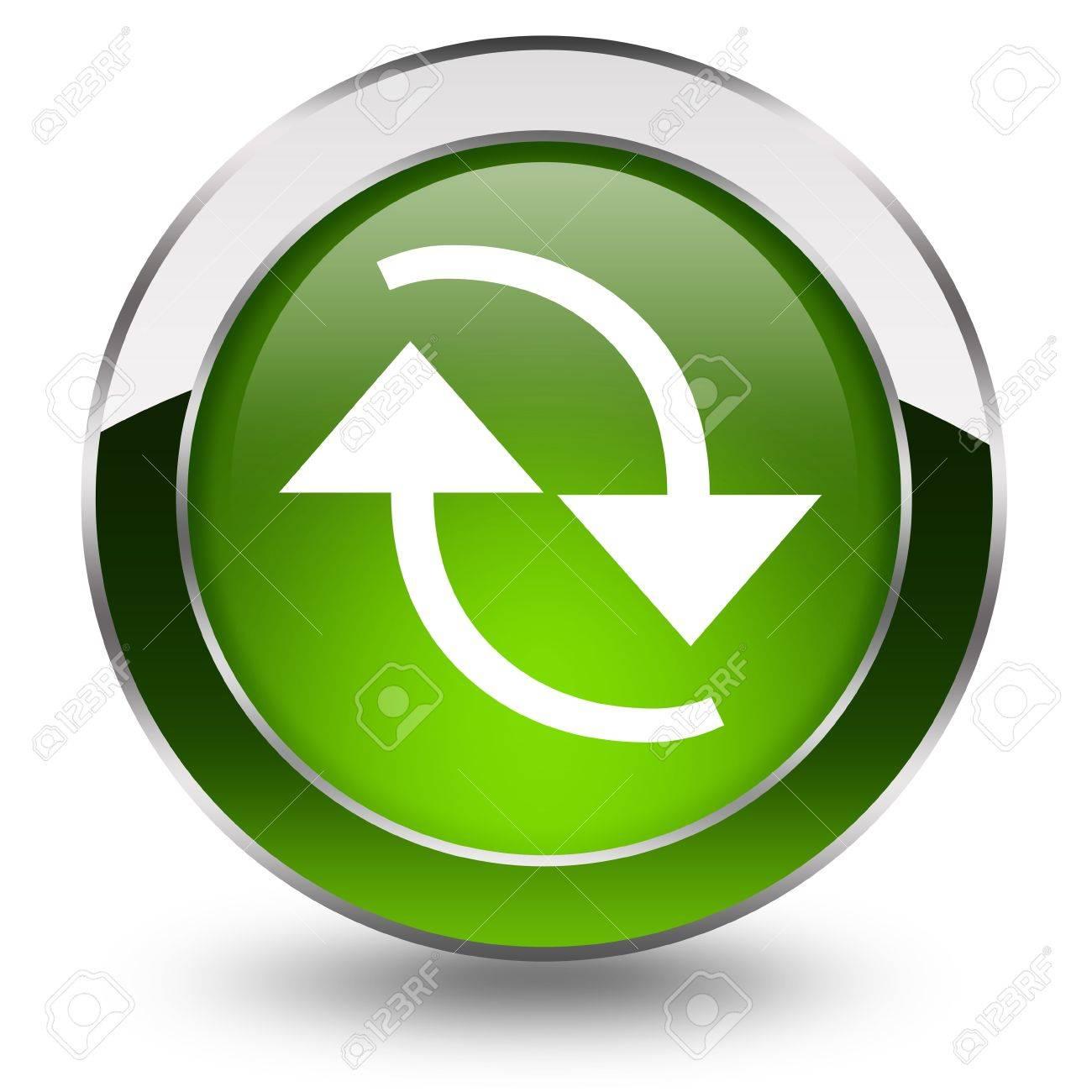Refresh button Stock Photo - 12894949