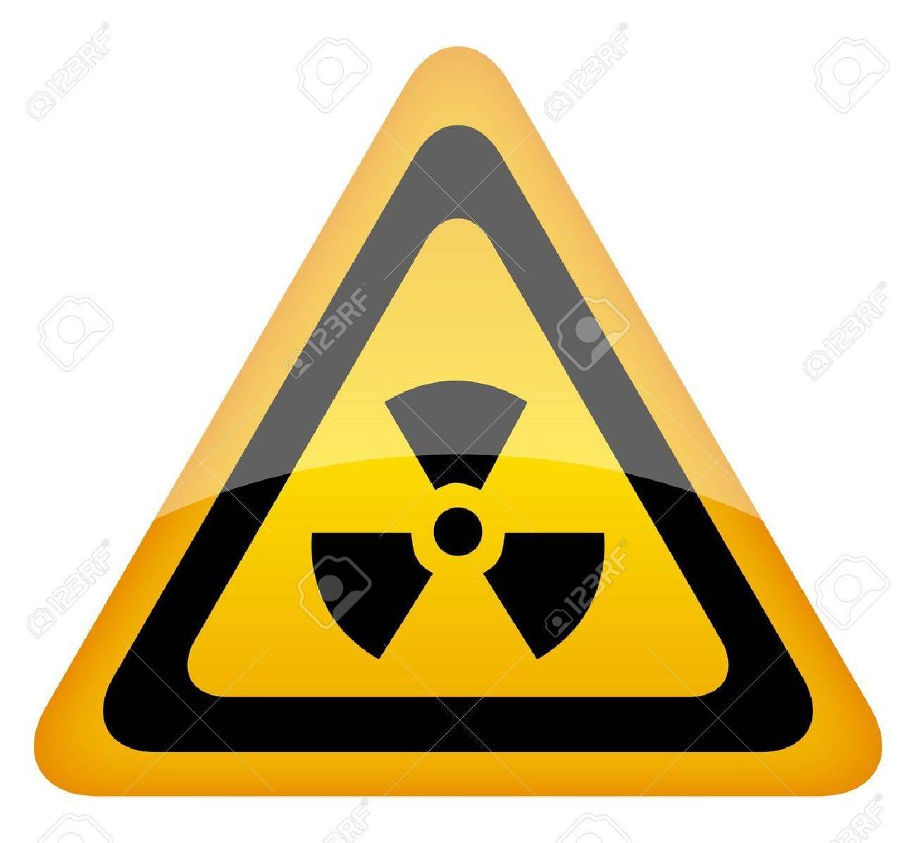 radiation sign illustration Stock Vector - 13185171