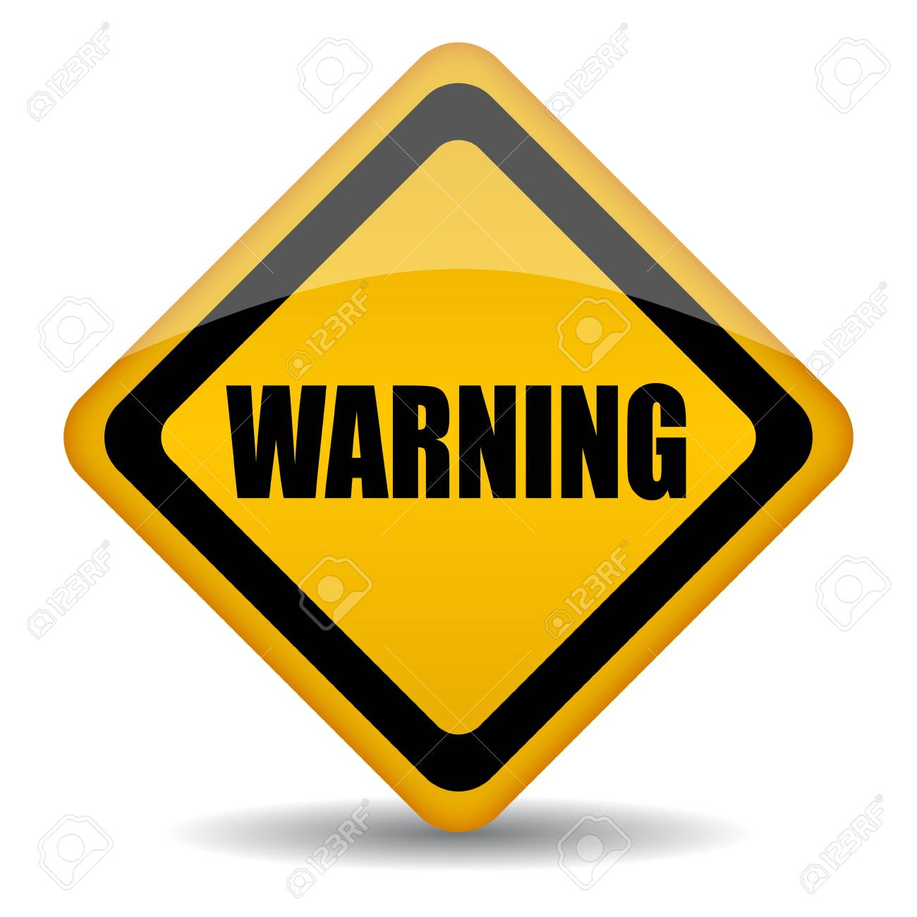 warning sign Stock Vector - 13310782
