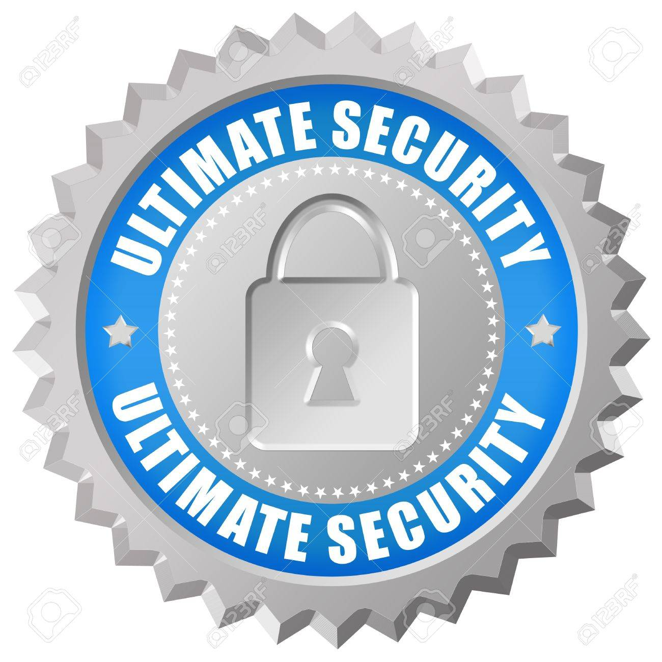 Ultimate security icon Stock Photo - 14158101