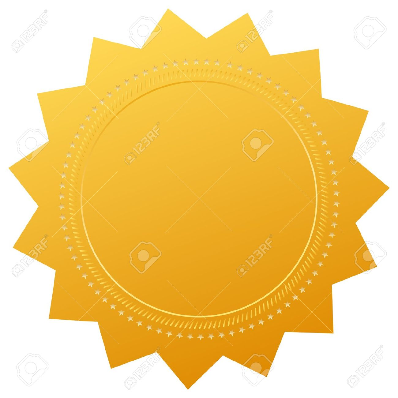 Blank Gold Price Tag Stock Photo Picture And Royalty Free Image