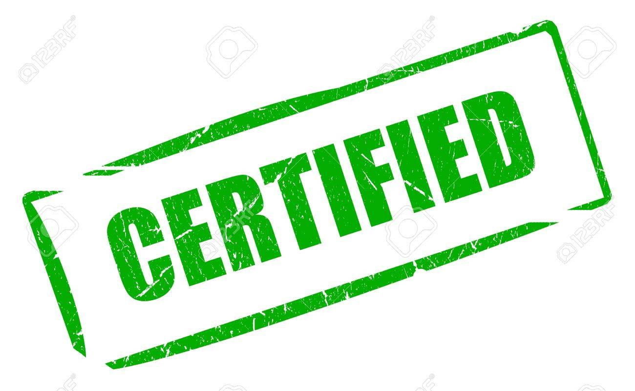certified green stamp stock photo picture and royalty free image