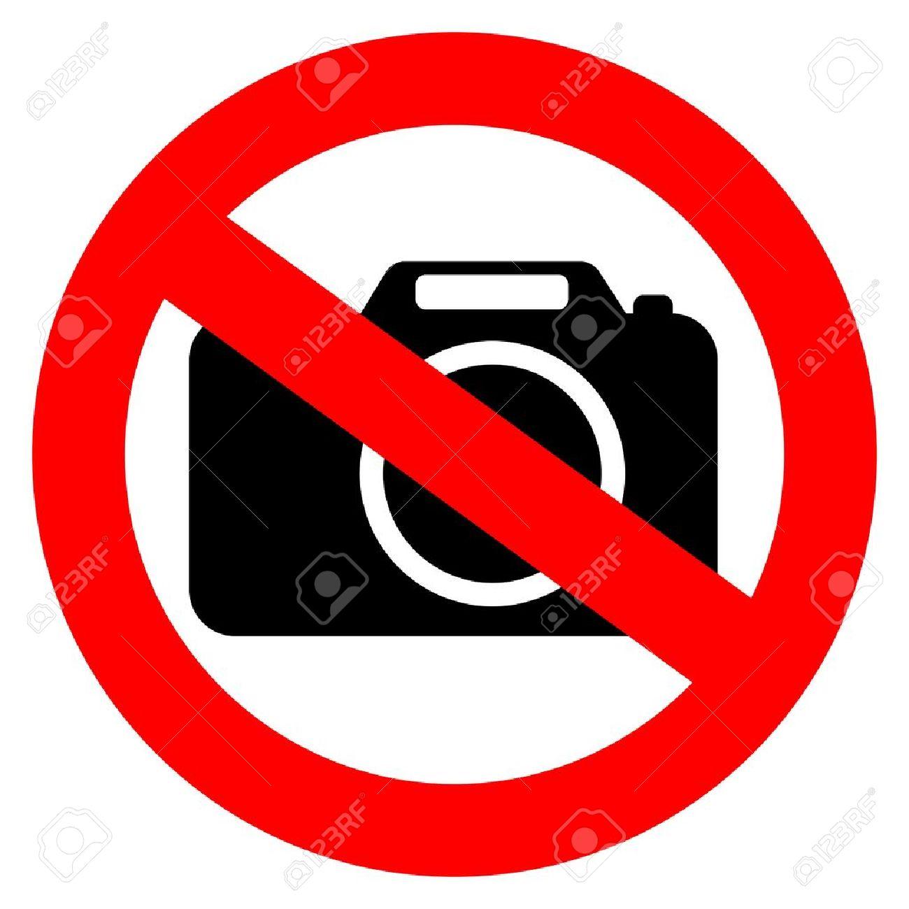 No photo camera sign Stock Vector - 14643679
