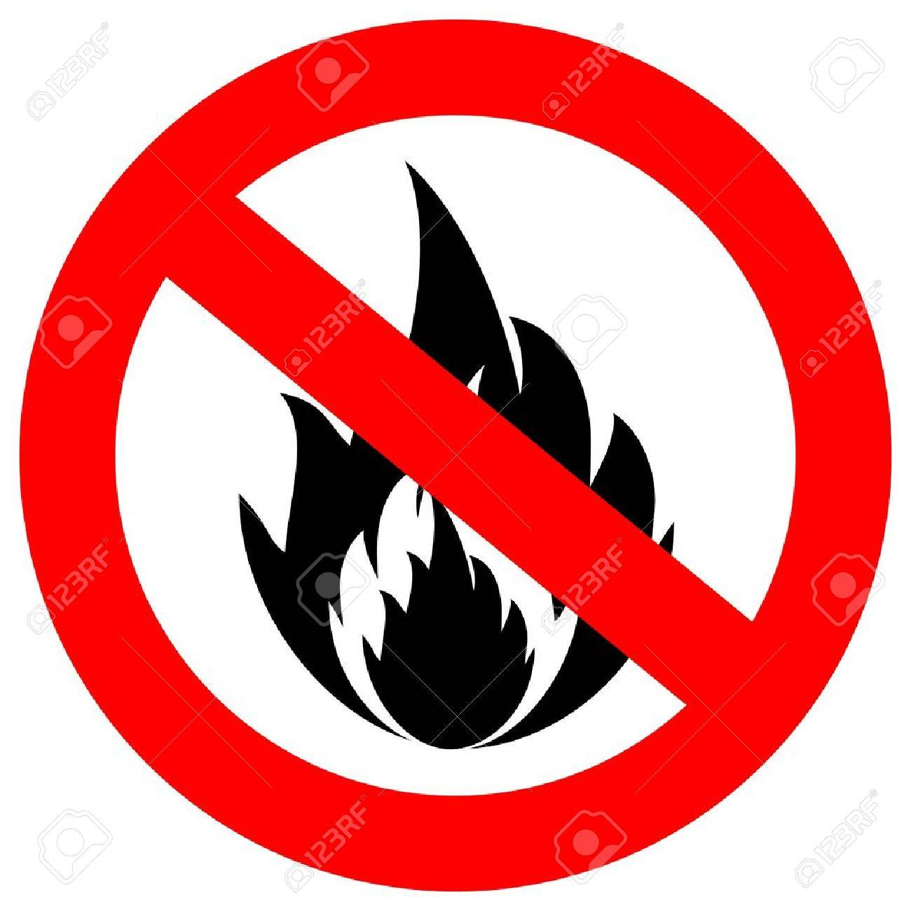 No fire  sign Stock Vector - 15067136