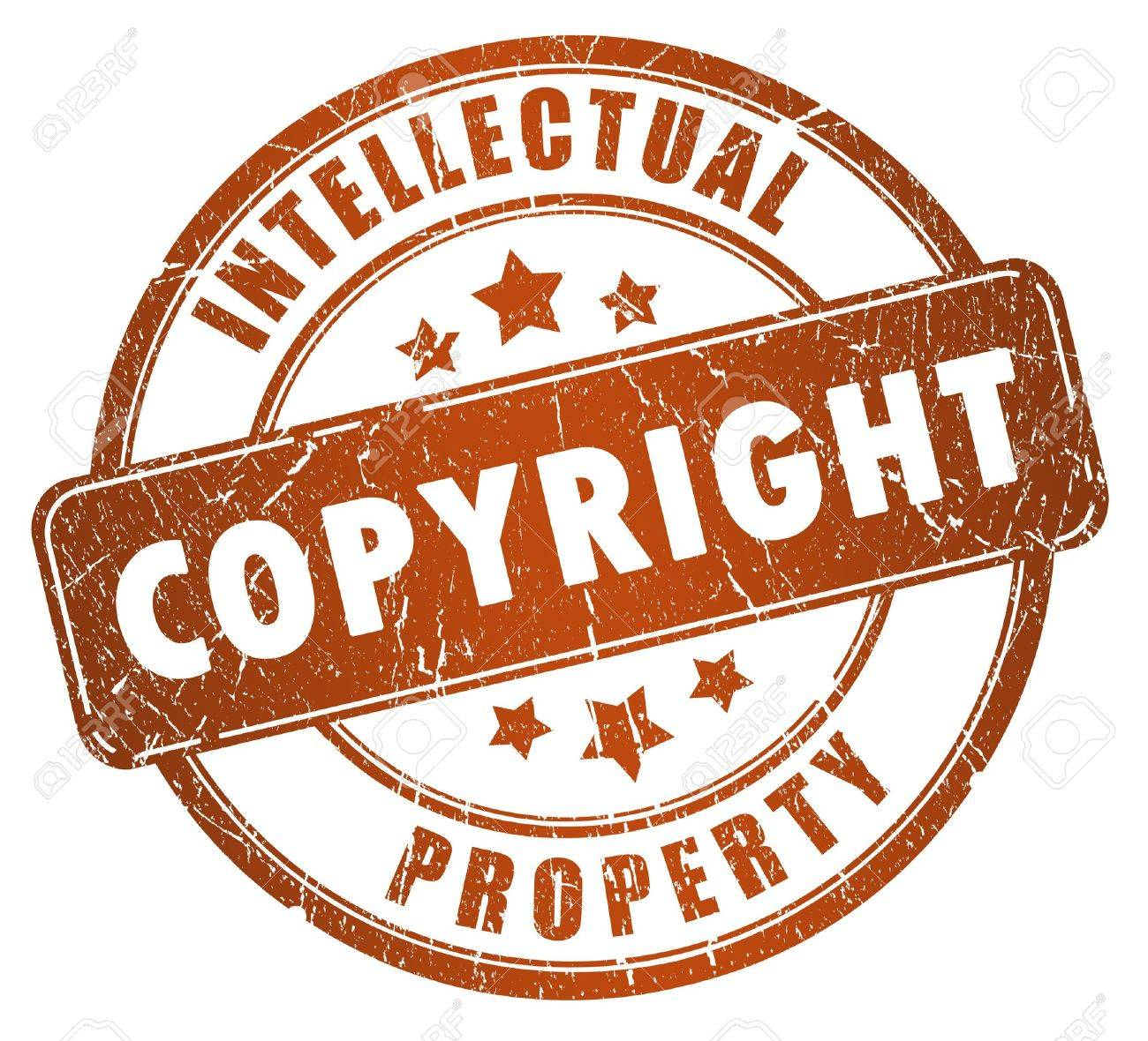 Copyright stamp Stock Photo - 15167856