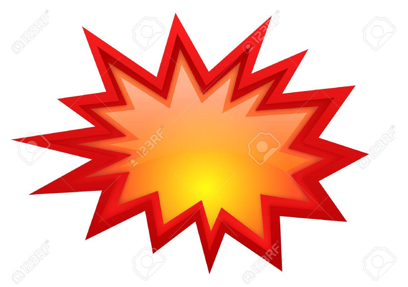 Vector bursting star - 15503342