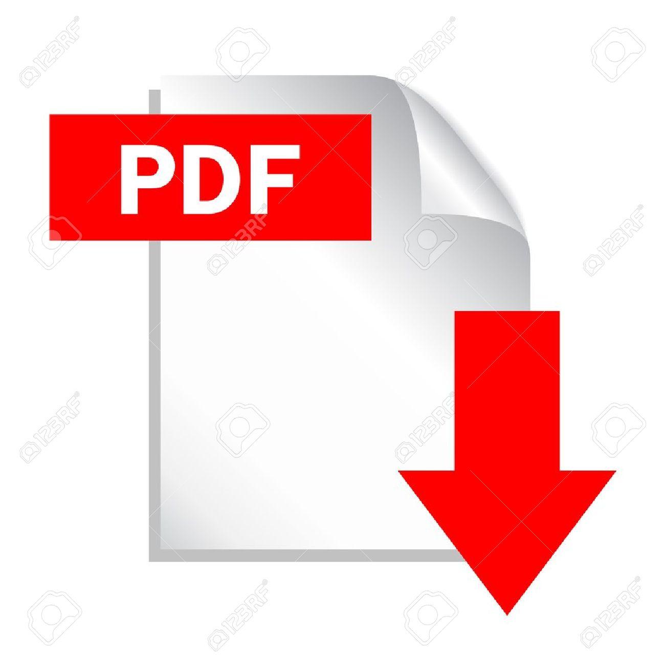 Pdf файл скачать значок. Документ текста, символ web. Значок.