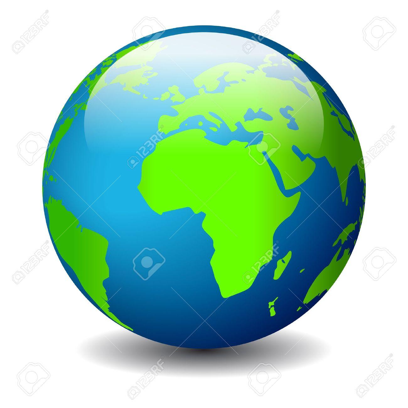 Globe icon, vector illustration Stock Vector - 15544266