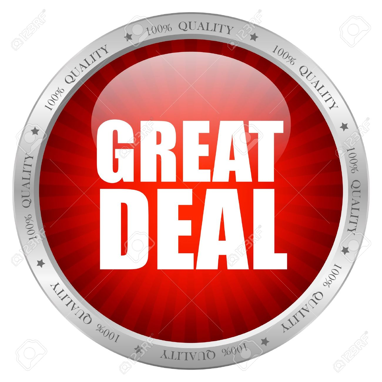 Great deal icon, vector illustration Stock Vector - 15559570