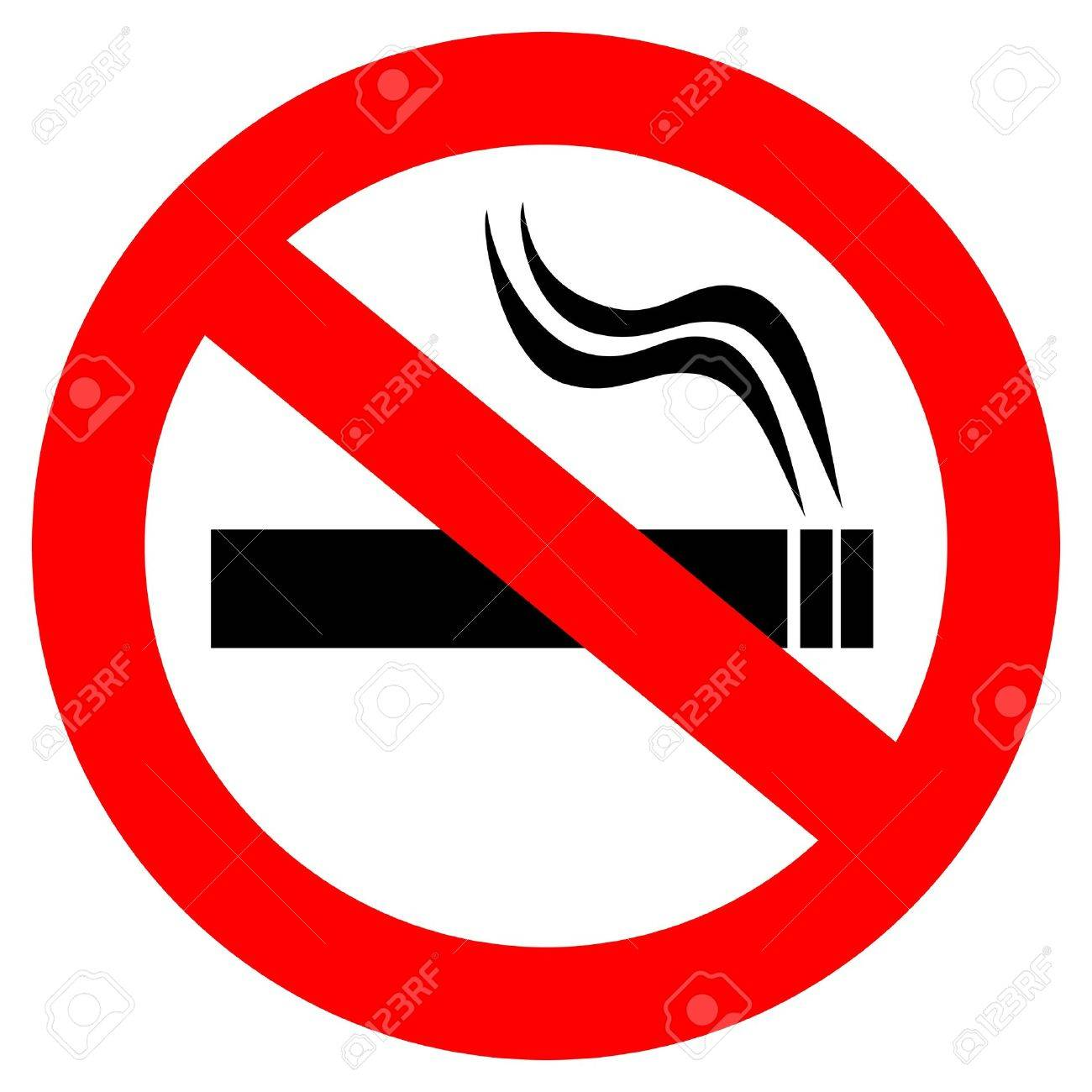 No Smoking Sign Royalty Free Cliparts, Vectors, And Stock ...