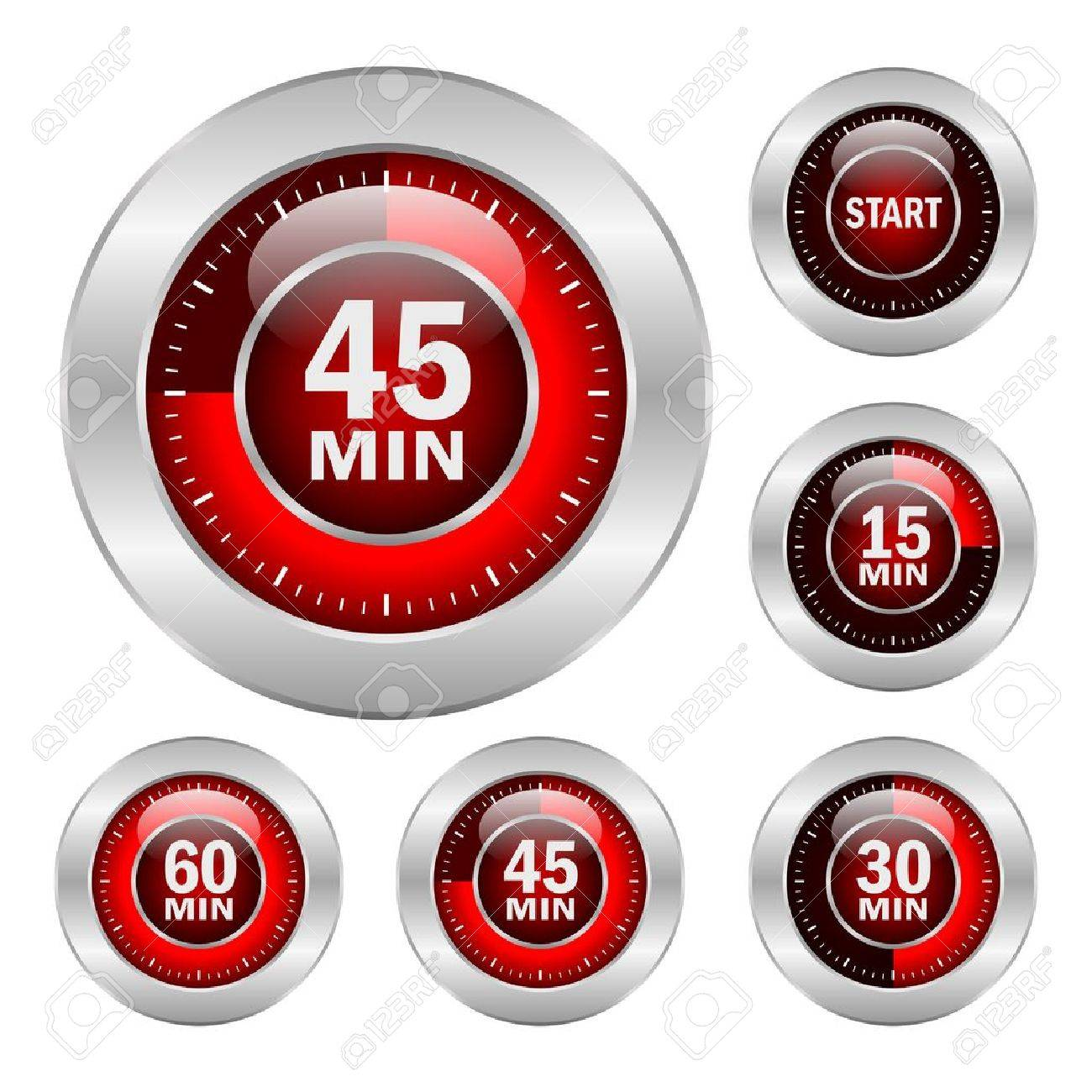 Timer icons Stock Vector - 15714156