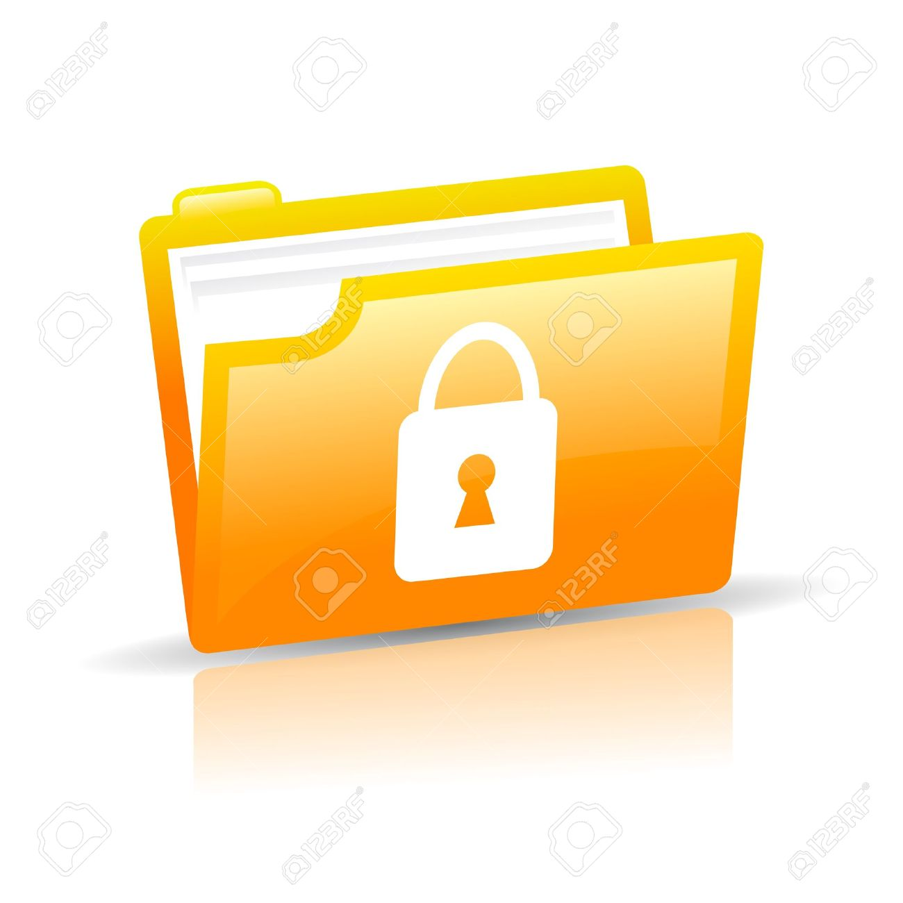 Personal data protection Stock Vector - 16035631