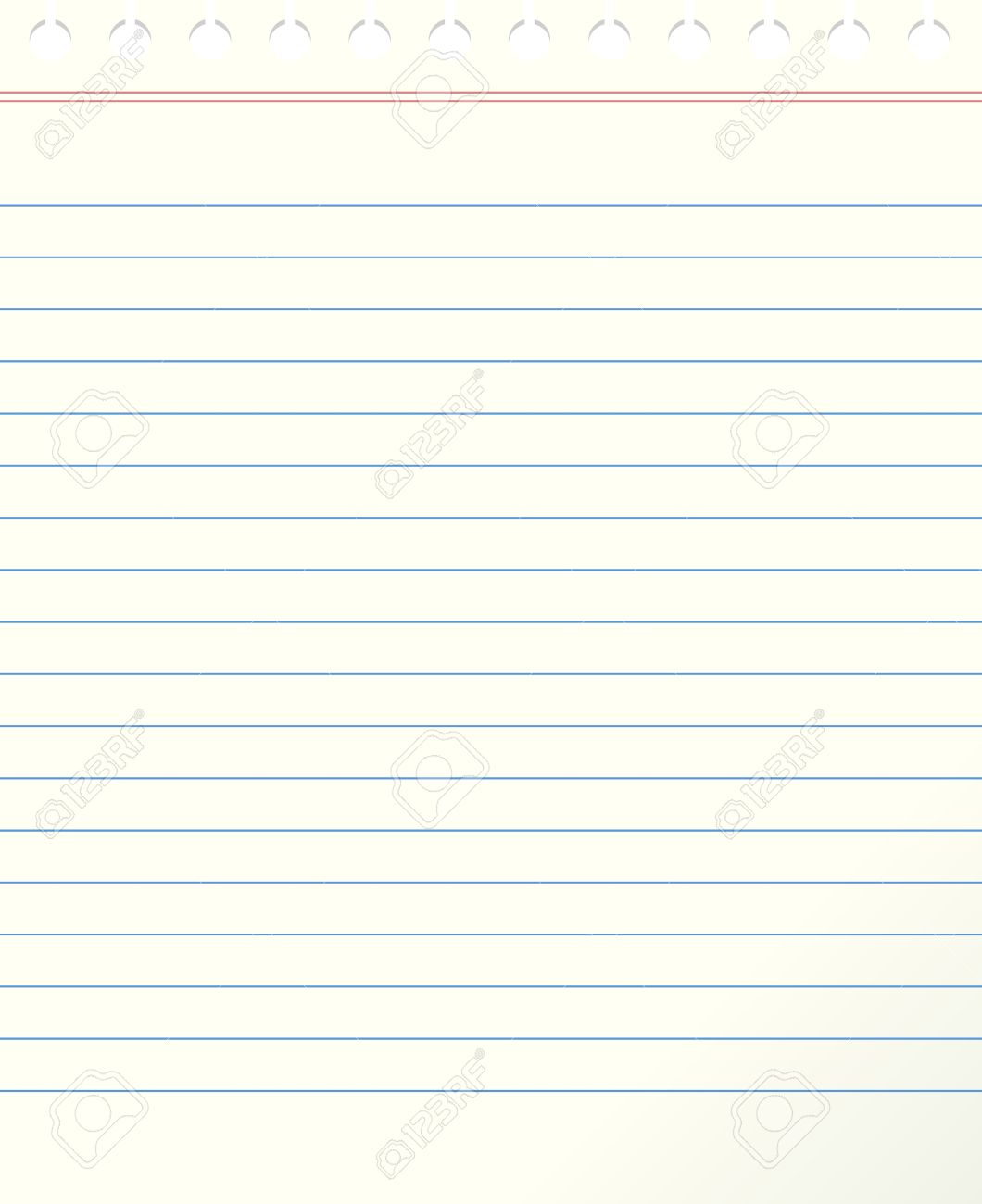 Blank Lined Paper Royalty Free Cliparts Vectors And – Lined Blank Paper