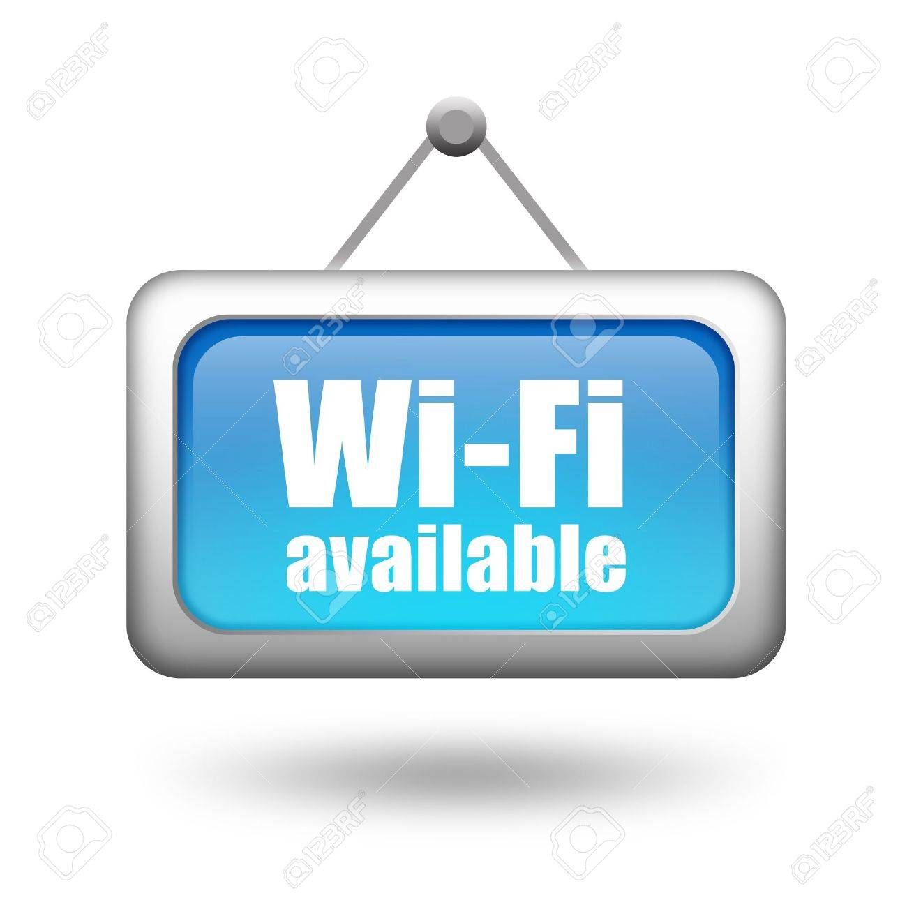 Wi-fi available sign Stock Photo - 16708580