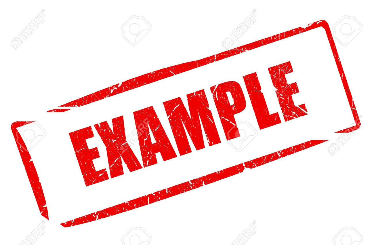 Example stamp - 17101561