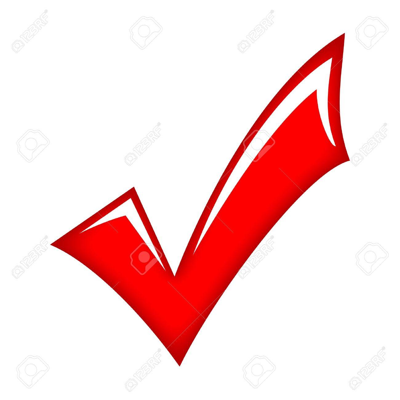 vector red check mark royalty free cliparts vectors and stock rh 123rf com check mark clip art for excel check mark clip art free