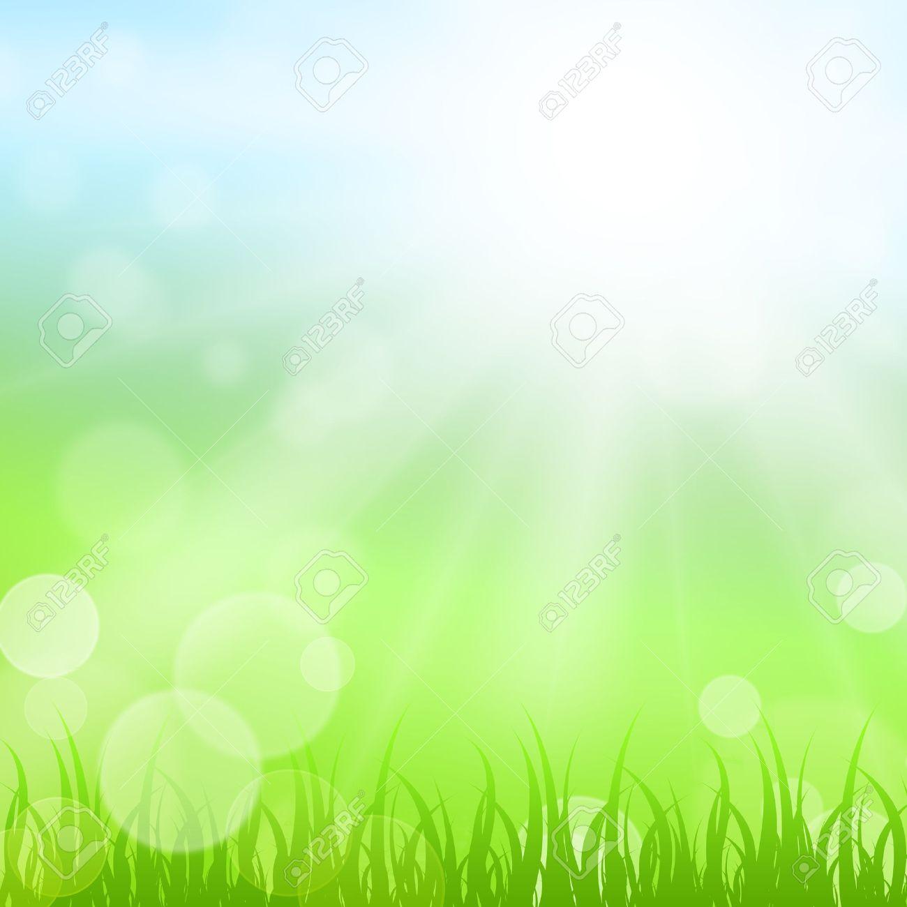 Sunny nature background Stock Photo - 18372166