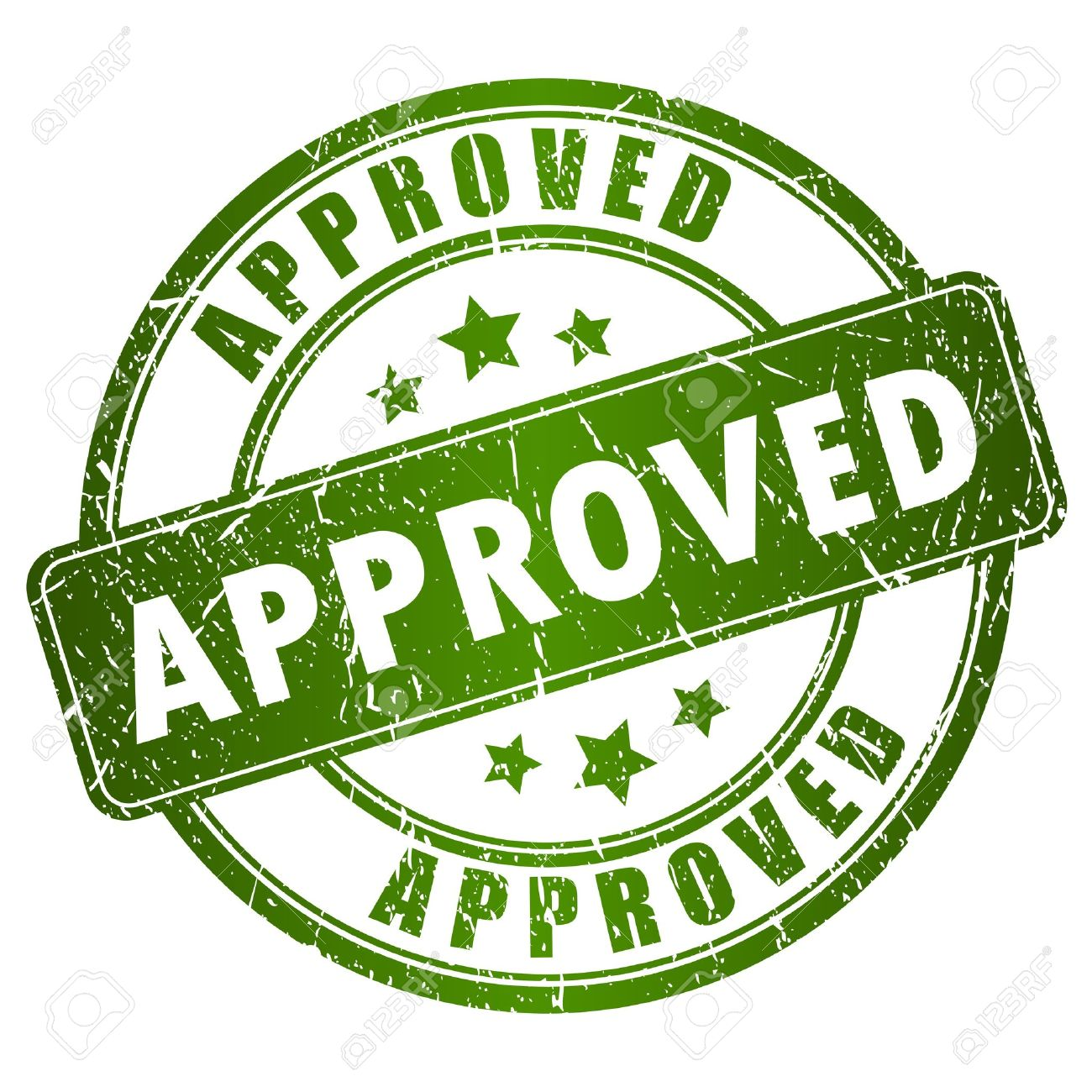 Vector approved stamp Stock Vector - 18519971
