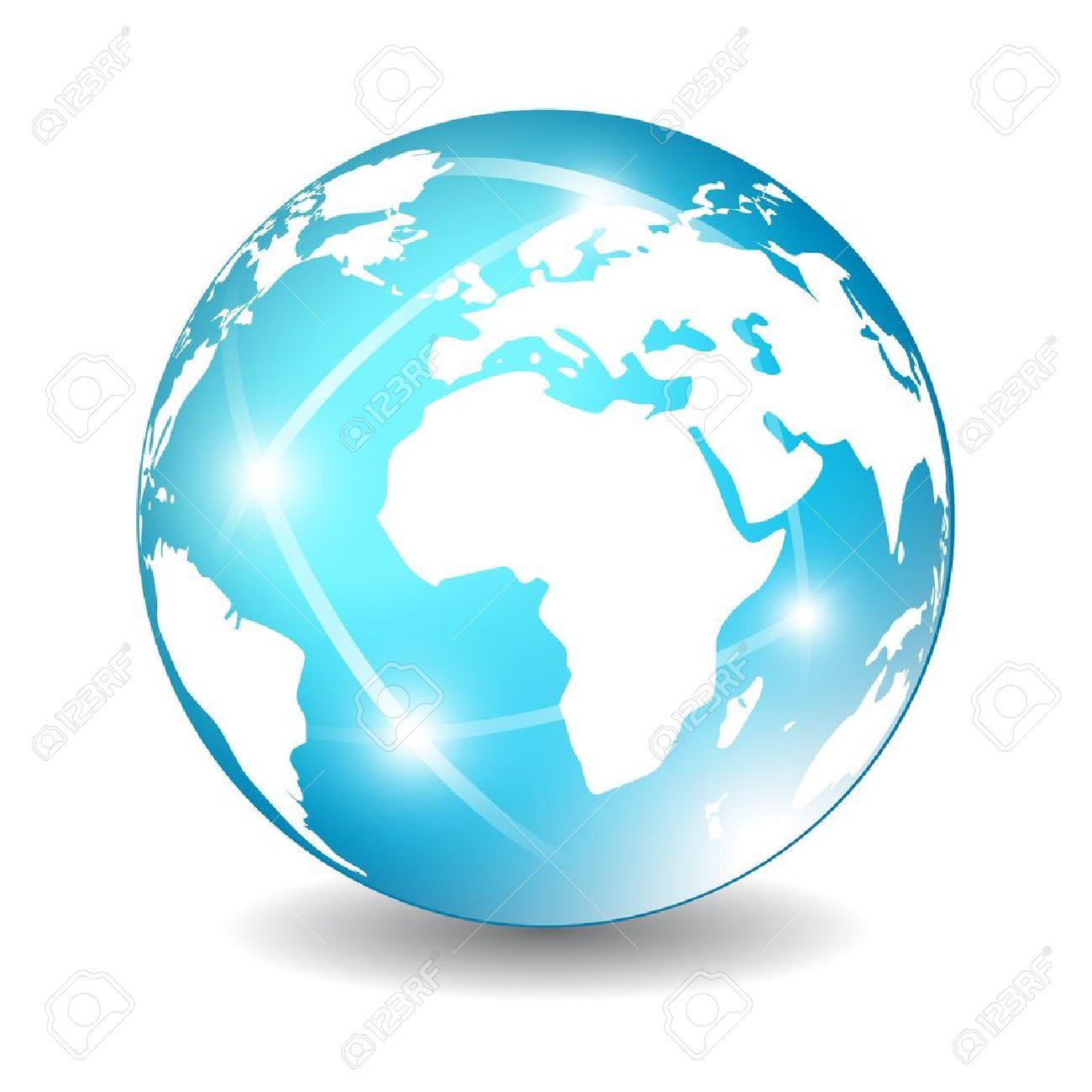 Earth globe icon, vector illustration - 19375856