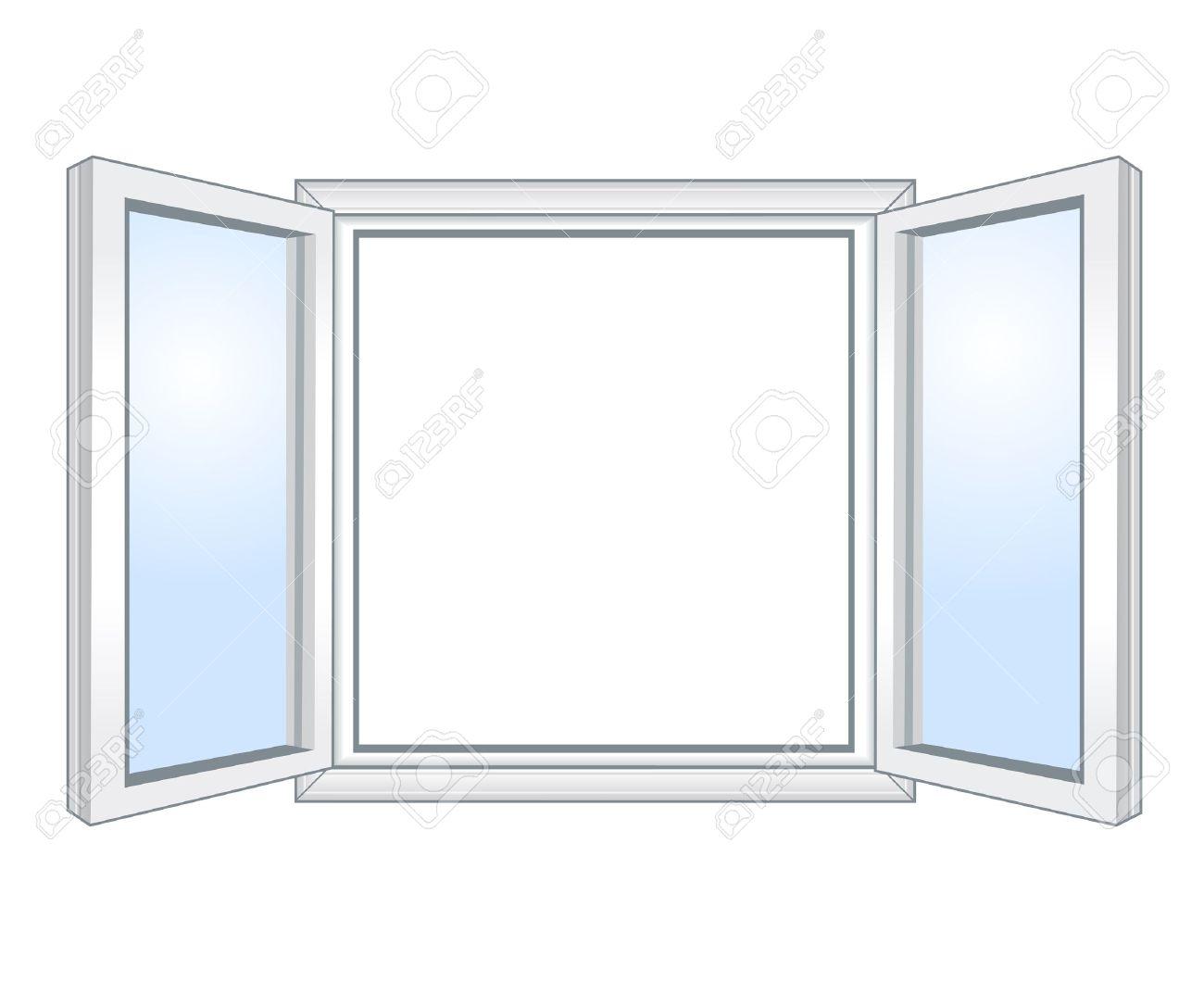 Open Window Frame