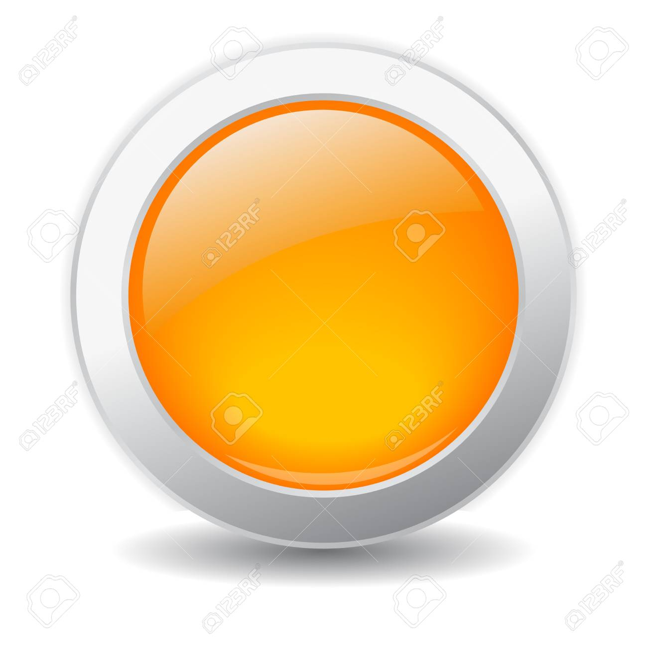 Glossy button illustration Stock Vector - 21550195